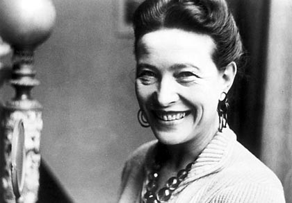 Simone de Beauvoir ( 1908 - 1986 )